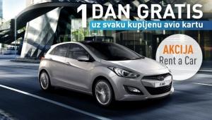 Putnik Travel Aktion: Ein Tag gratis für Rent-a-Car
