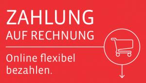 NEU: Flexibel zahlen , per Rechnungs- und Ratenkauf