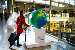 Flughafen Heathrow: Duftender Globus – wahre Attraktion