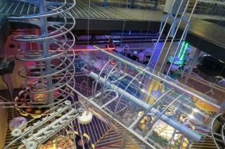 Roller Coaster Restaurant in Abu Dhabi