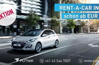 Putnik travel - magazin - Aktion: Rent-a-Car auch in Nis schon ab 19.- EUR!